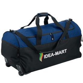 Wheeled Duffel Branded with Your Logo