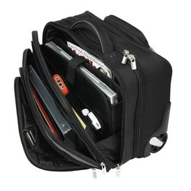 Wheeled Ferraro Tote with Compu Sleeve for your School