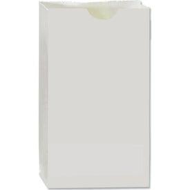 "White Popcorn Bags (4 1/4"" x 2 3/8"" x 8 3/16"")"