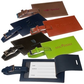Whitney Rectangular Luggage Tag for your School