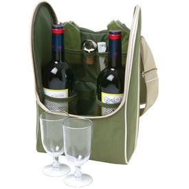 Wine Bag for 2 Imprinted with Your Logo