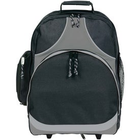 Logo Expeditor Wheeled Computer Backpack