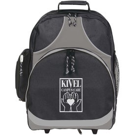 Expeditor Wheeled Computer Backpack Imprinted with Your Logo