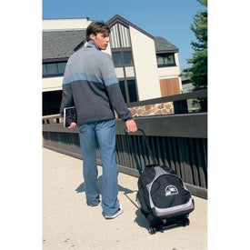Advertising Expeditor Wheeled Computer Backpack