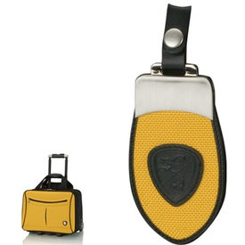 Yellow and Black Trolley Case for Promotion