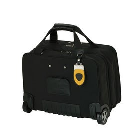 Custom Yellow and Black Trolley Case