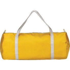 Zimmerman Duffel Bag with Strap and Zipper with Your Logo