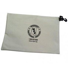 Promotional Zip-Clip Canvas Bag