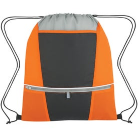 Zip-N-Go Drawstring Backpack