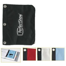 Zipped Pouch for 3-Ring Binder