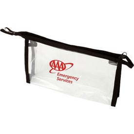 Zipper PVC Bag with Your Slogan