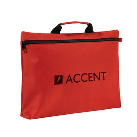 Zippered Document Bag With Handle for Promotion