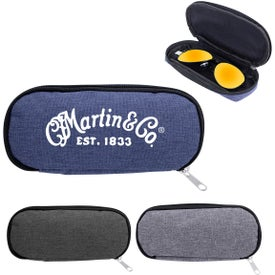Zippered Eyeglass and Sunglass Pouch