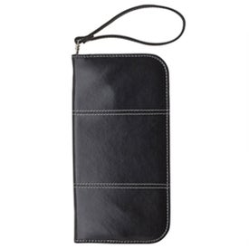 Company Zippered Passport Wallet