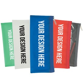 Personalized Zippered Pencil Case