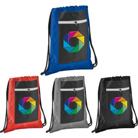 Zippered Ripstop Drawstring Sports Pack