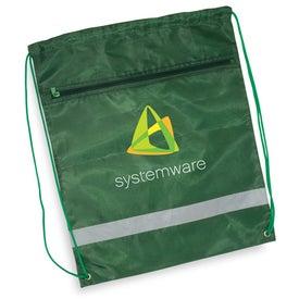 Monogrammed Zippered String A Sling Backpack