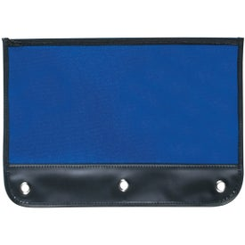 Zippered Pencil Case with Holes with Your Logo