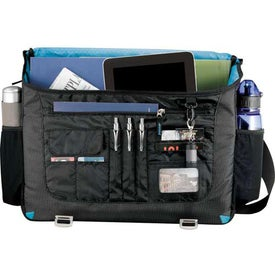 Advertising Zoom Checkpoint-Friendly Compu-Messenger Bag