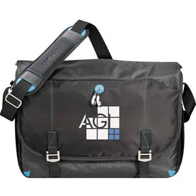 Promotional Zoom Checkpoint-Friendly Compu-Messenger Bag