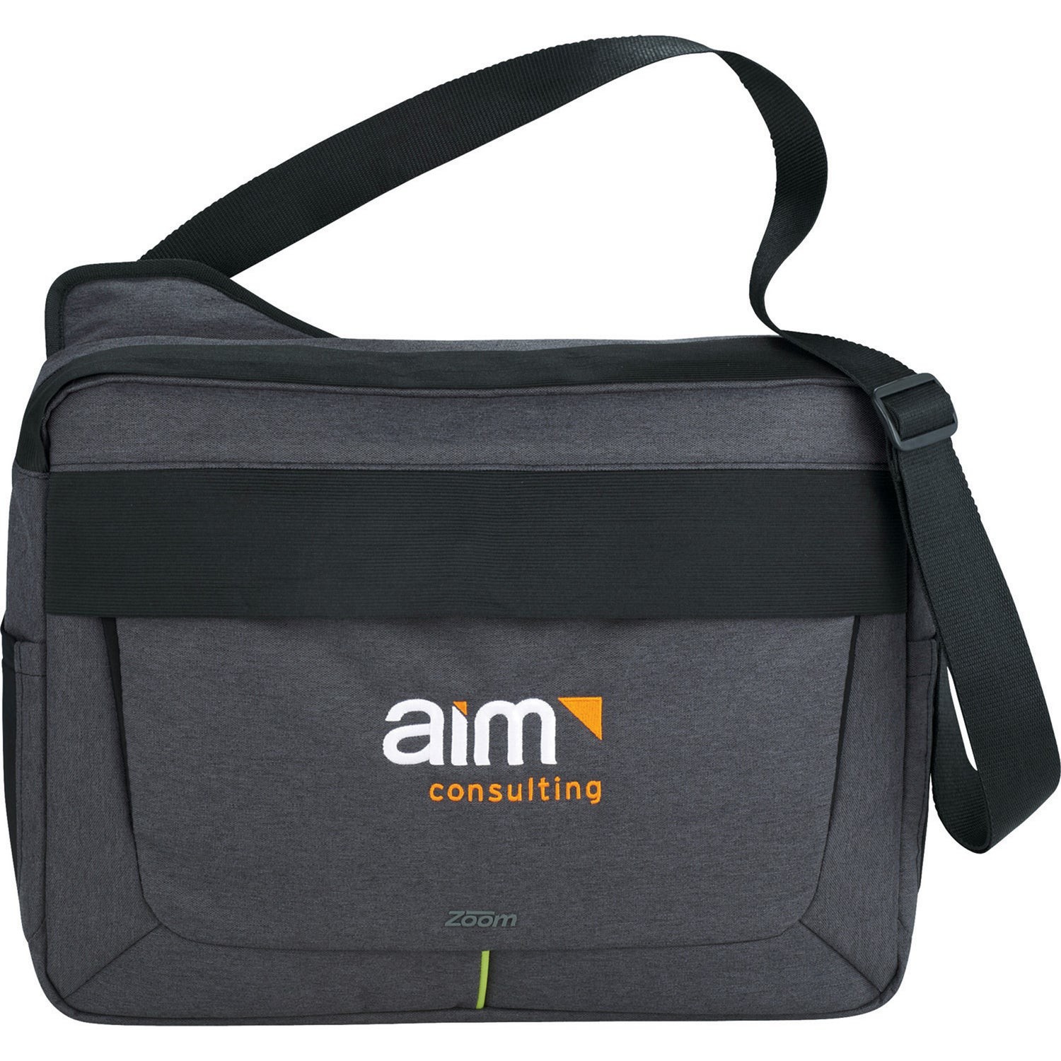 Zoom Power Stretch Compu-Messenger Bag
