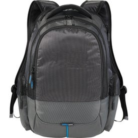 Monogrammed Zoom Power2Go Checkpoint-Friendly Compu-Backpack