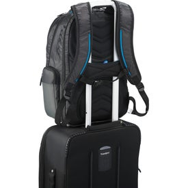 Zoom Power2Go Checkpoint-Friendly Compu-Backpack for Advertising