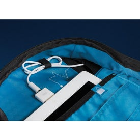 Branded Zoom Power2Go Checkpoint-Friendly Compu-Backpack