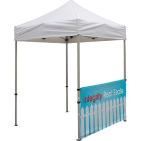 Deluxe Tent Half Wall Banner Kits (Full Color Imprint)
