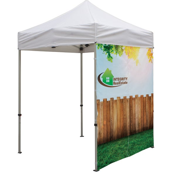 Full Color Imprint Tent Wall with Middle Zipper