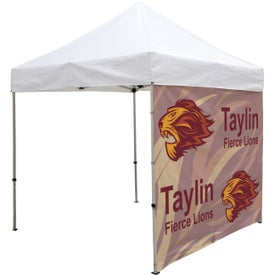 "Tent Walls with Middle Zipper (8.2292 Ft. x 84.5"", 1 Location, Full Color Imprint)"