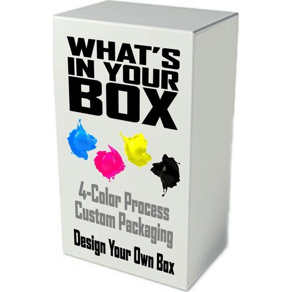 White Custom Full Color Box