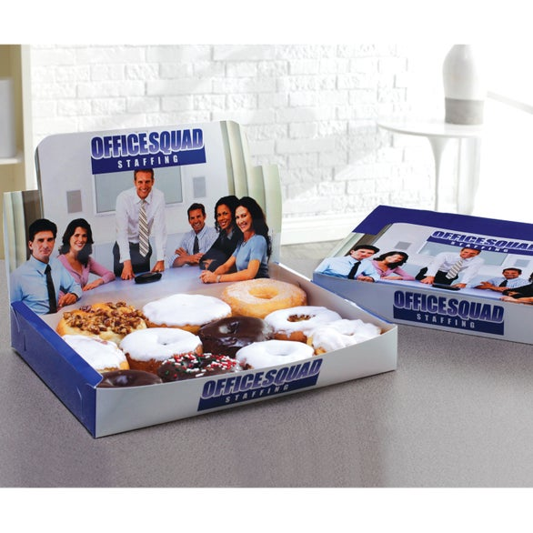 Full Color Imprint Donut Display Box