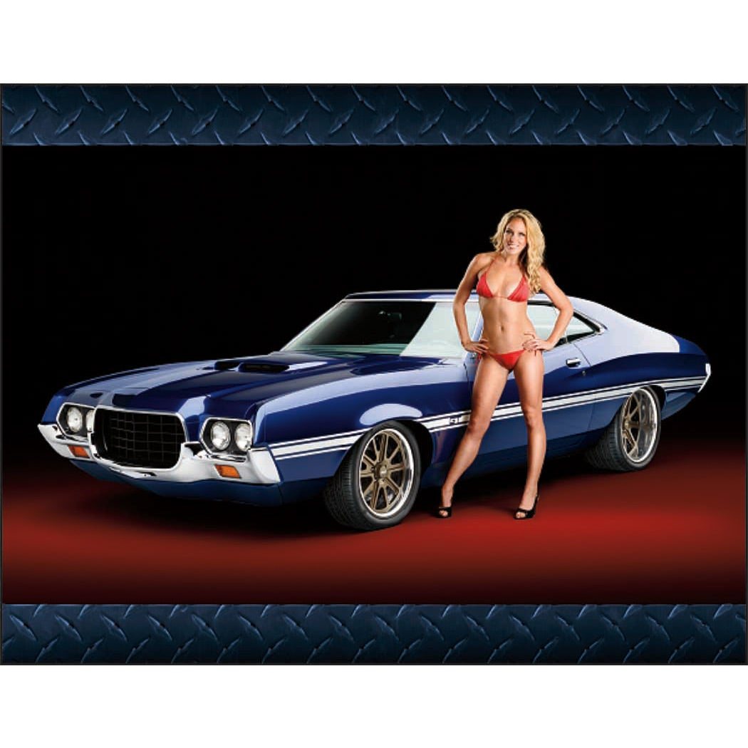 1854 American Muscle Wall Appointment Calendar (2016