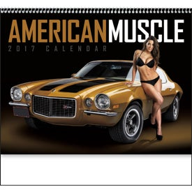 1854 American Muscle Wall Appointment Calendar for Promotion