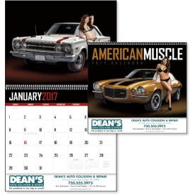 Company 1854 American Muscle Wall Appointment Calendar