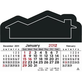 3 Month Horizontal Calendar Pad with Your Logo