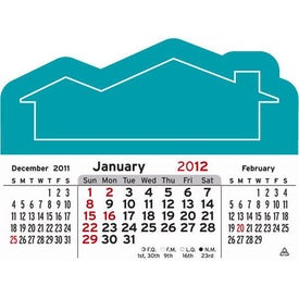 3 Month Horizontal Calendar Pad Branded with Your Logo