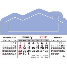 Customized 3 Month Horizontal Calendar Pad