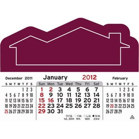 3 Month Horizontal Calendar Pad for Your Organization