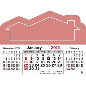 3 Month Horizontal Calendar Pad for Your Church