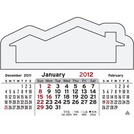 Advertising 3 Month Horizontal Calendar Pad
