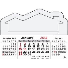 Advertising 3 Month Horizontal Calendar Pad