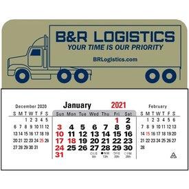3 Month Horizontal Calendar Pad