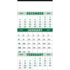 Advertising 3-Month Planner Calendar
