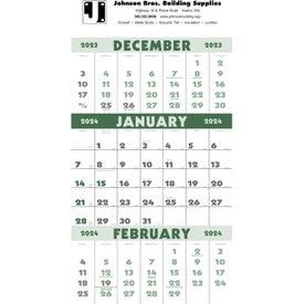 3-Month Planner Calendar