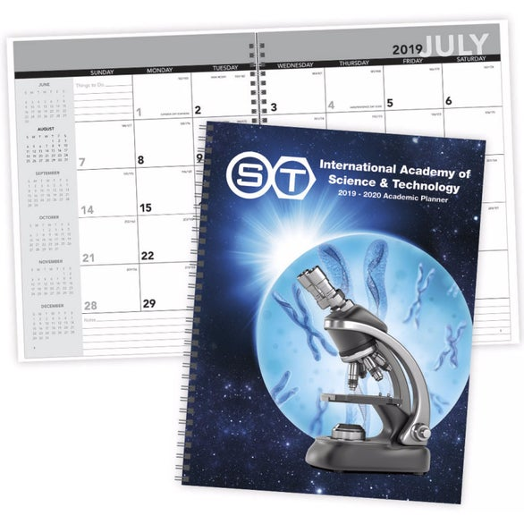 Academic Year Planner with Custom Cover