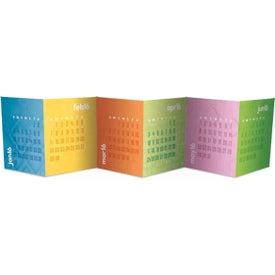 Customized Accordion Desk Calendar