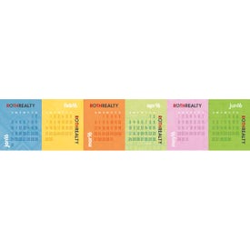 Branded Accordion Desk Calendar