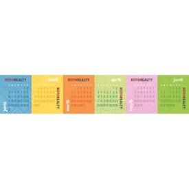 Branded Accordion Desk Calendar